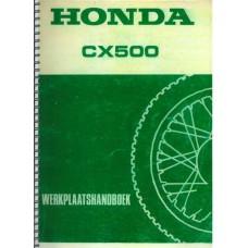 Honda CX werkplaatshandboek